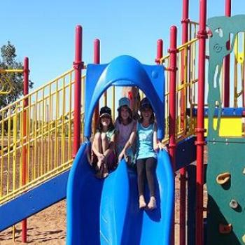 Hayley, Jaimee & Kirilee at the park