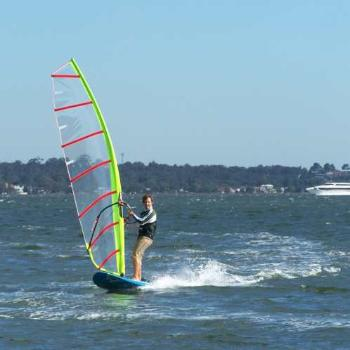 Wind surfing in Perth