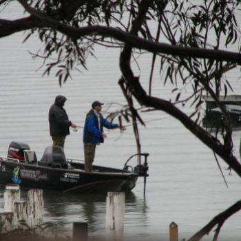 7764 Drift fishing Hawkesbury River NSW Sept'08 Kate/Sydney