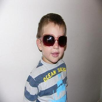 My cool grandson (Anne)