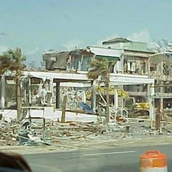 damage by Hurricane Katrina, Biloxi, MS