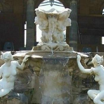 fountain at Hever Castle,Kent, England