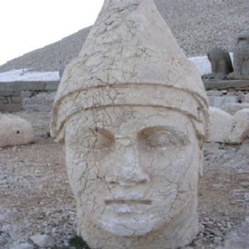 Old statue in Turkey. Maureen/Dubbo