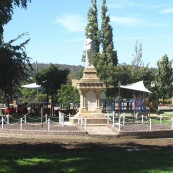 Playground behind memorial Goulburn Pk Kate/Sydney