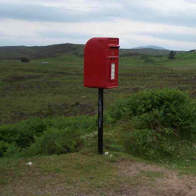 post box- Scotland