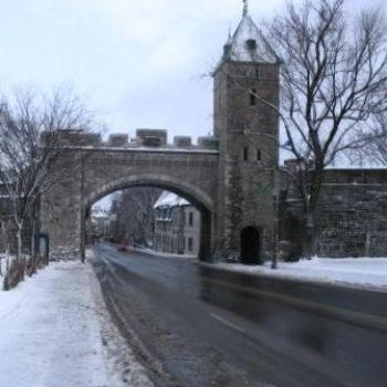 old wall, quebec city