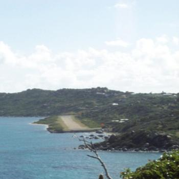 """Airport"" in Virgin Gorda, BVI"