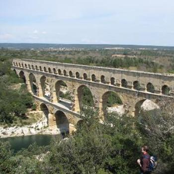 Pont du Gard, France (part of a 2000-year-old Roman viaduct)