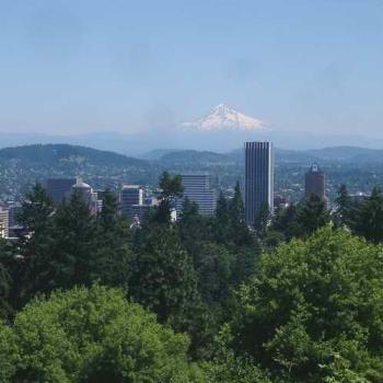 City of Roses, Portland, Oregon and Mt Hood, by Terri of Arizona