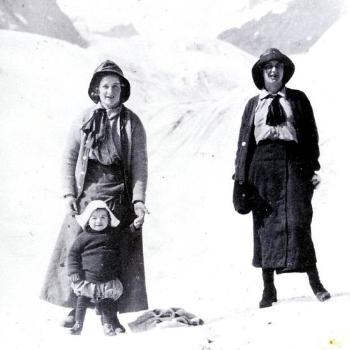 on the Bear River Glacier October, 1913