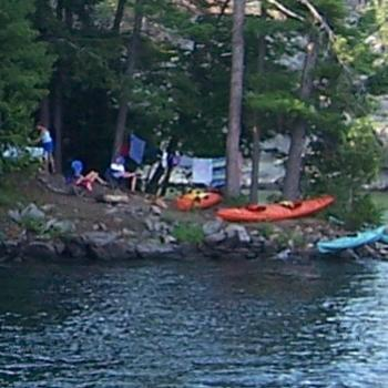 camping in Thousand Islands