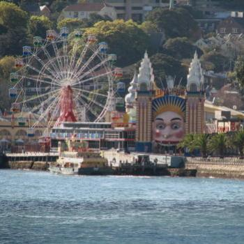 7424 Ferry 'Sirius' visiting Luna Park Kate/Sydney