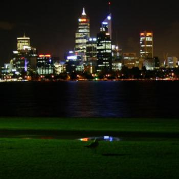 Perth at night, November 2008