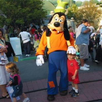 Goofy and Friend in Universal Studios