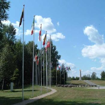 Geographical centre of Europe near Vilnius (Lituania)