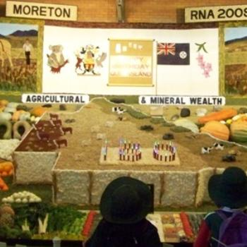 agricultural display at Ecca 6 - Joann