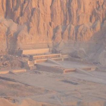 Hatshepsut's Temple at dawn, Egypt - Eileen (Surrey, England)