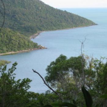 Swamp Bay from Mt. Roper, Airlie Beach, Whitsundays, Qld - Wendy/Perth