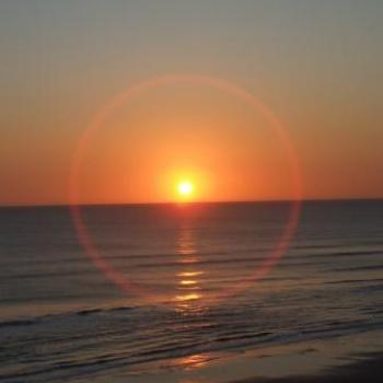 Sunrise from our balcony, Ormond Beach, Florida - Eileen (Surrey, England)