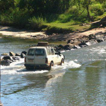 Crossing into Arnhem Land, Kakadu, N.T.. Wendy/Perth