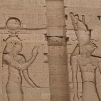 Hathor and Horus, Egypt - Eileen (Surrey, England)