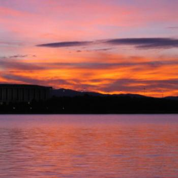 Sunset over Lake Burley-Griffin, Canberra - Wendy/Perth
