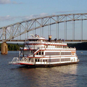 Riverboat on the Mississippi River - USA