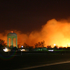 Wild Fire North Of Pampa, Tx on 3-12-06