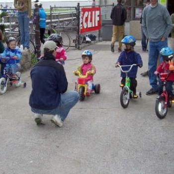 Elle's First Bike Race
