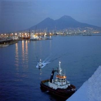 Leaving Naples Harbour