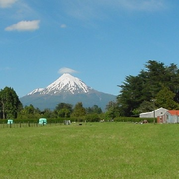 Mt Taranaki - just sleeping!