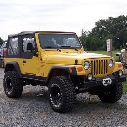 My jeep - Raleigh