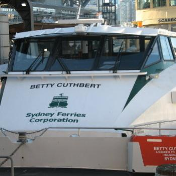 7501  River Cat  'Betty Cuthbert'  Circular Quay Sydney Sept'08Kate/Sydney