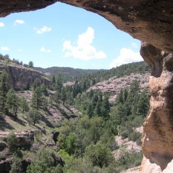 Gila Cliff Dwellings SW New Mexico