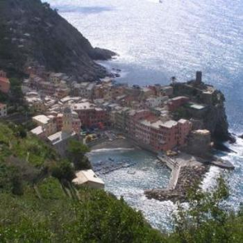 Vernazza, on the Cinque Terre trail, Italy