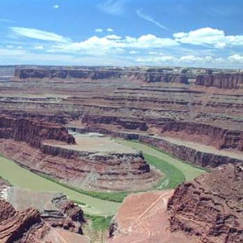 Colorado River from Dead Horse Point, Canyonlands National Park, Utah