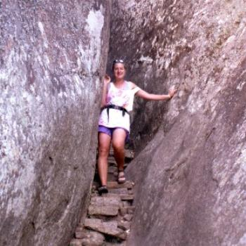 Christine at Great Zimbabwe
