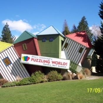 Puzzling World Lake Wanaka NZ