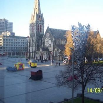 Cathedral Square Christchurch NZ
