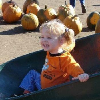 Jordyn in the pumpkin patch/ Jeannea/Montana