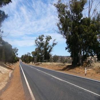 The road from Perth to Albany