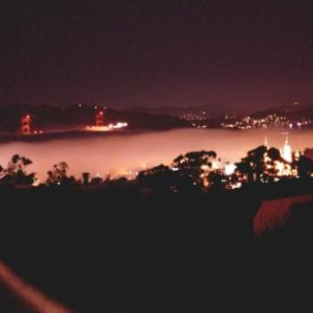 San Francisco fog with Golden Gate Bridge - Keyan Bowes