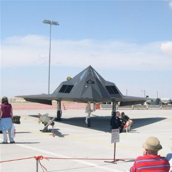 F-117 Stealth Fighter, Holloman Air Show 2005