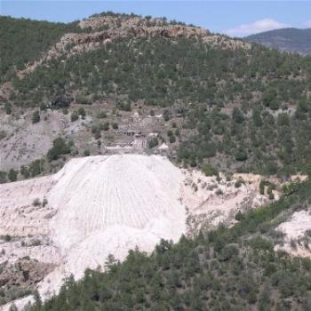 Abandoned gold Mine in the Mogollon Mtns, NM
