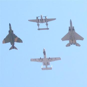 Flyover, Holloman Air Show, 2005