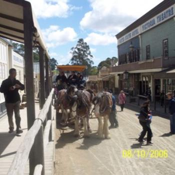 Main Street Sovereign Hill, Ballarat, Victoria