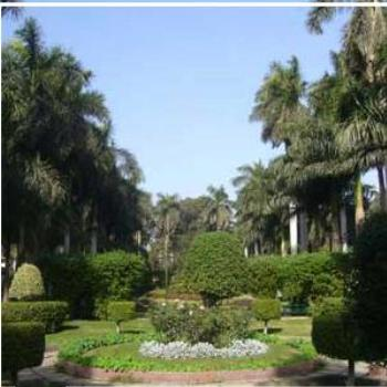 Andalus Garden in centre of Cairo Egypt
