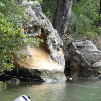 Hawkesbury sandstone, Marrmarra Creek (Kate/Sydney)