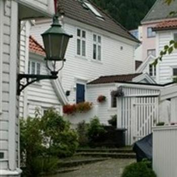 Neighborhood in Bergen, Norway