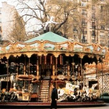 Carrousel at Sacre Coeur